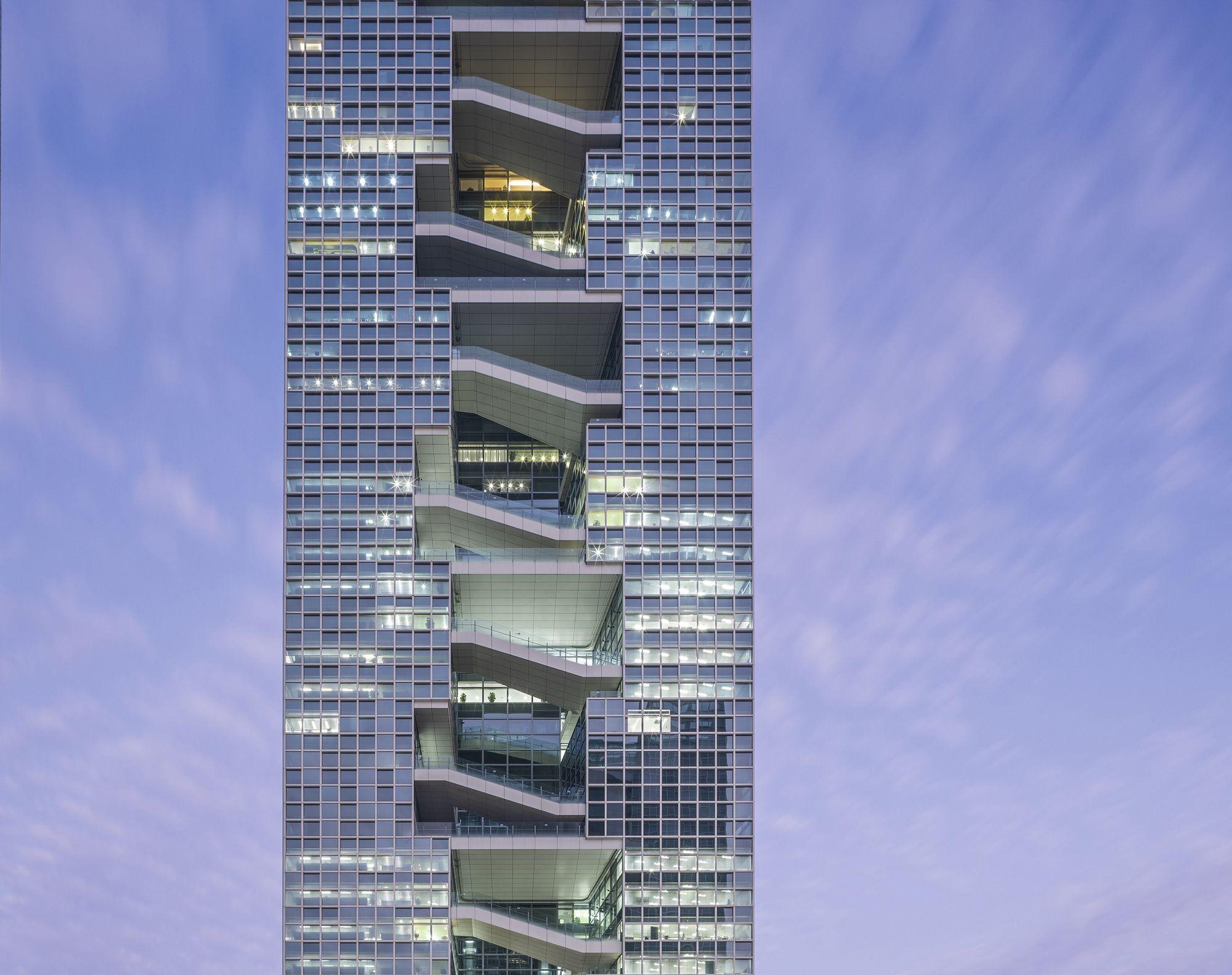 Baidu Headquarters Dongxiying Studio Ccdi Architecture Skyscraper Amazing Architecture
