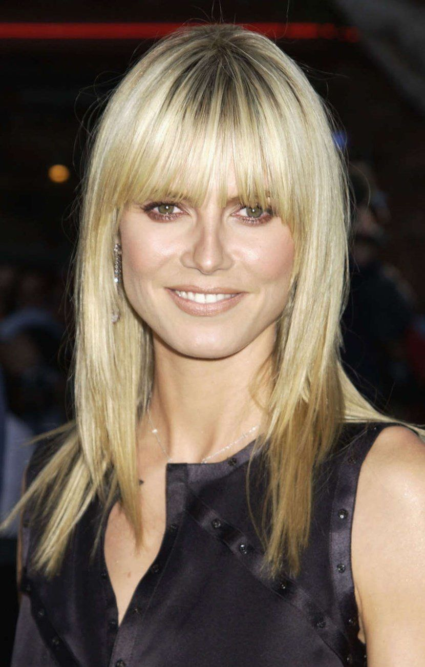 heidi klum neue frisur. Black Bedroom Furniture Sets. Home Design Ideas