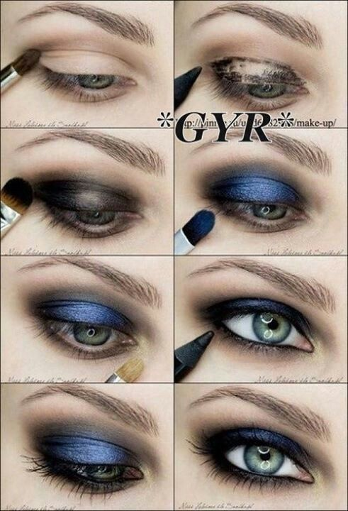 Eyes, with pop of color