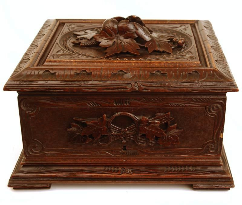 Thc hand carved cigar box pinterest antiques