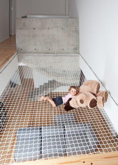 Contemporain Escalier By Idea Groupe Cib Habitat Avec Images Salle De Jeux Moderne Filet