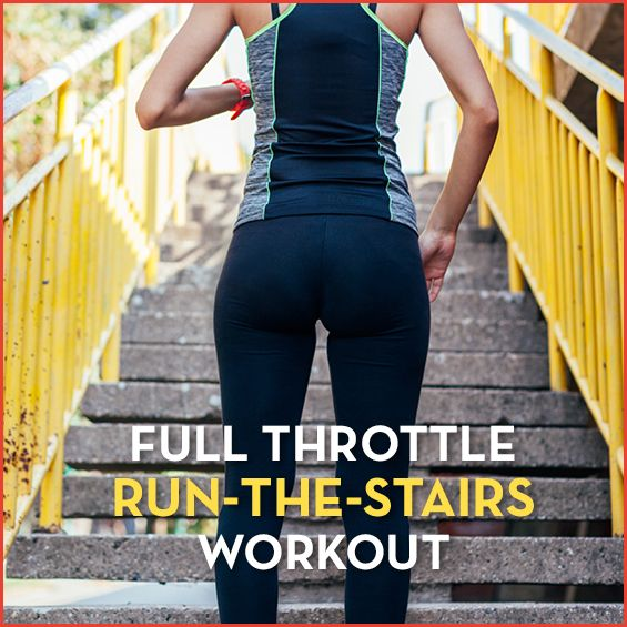 Get ready for the best workout of your life--all thanks to a simple set of stairs. #cardio #stairwor...