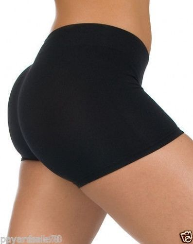 Women/'s Fitness Bike Shorts Soft Stretch Leggings Spandex Workout Yoga Gym Tight