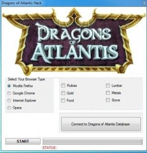 Dragons Of Atlantis Hack Cheat Bot Tool Facebook Unlimited Rubies Gold Lumber Stone Metals