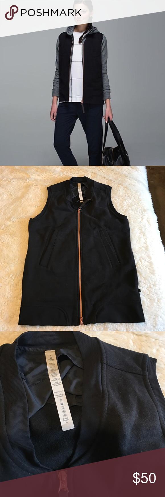 Lululemon vest Perfect condition, like new lululemon athletica Jackets & Coats Vests
