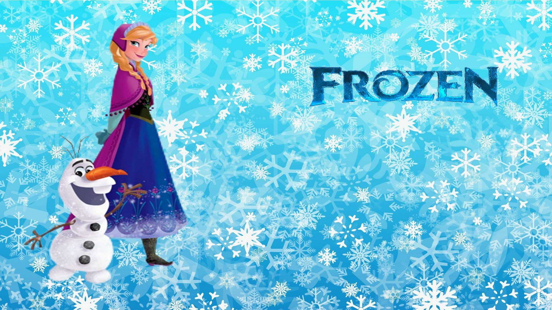Anna Frozen Movie Wallpaper