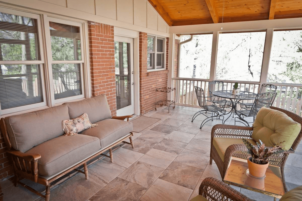The Best Flooring Option for Screened Porches Best