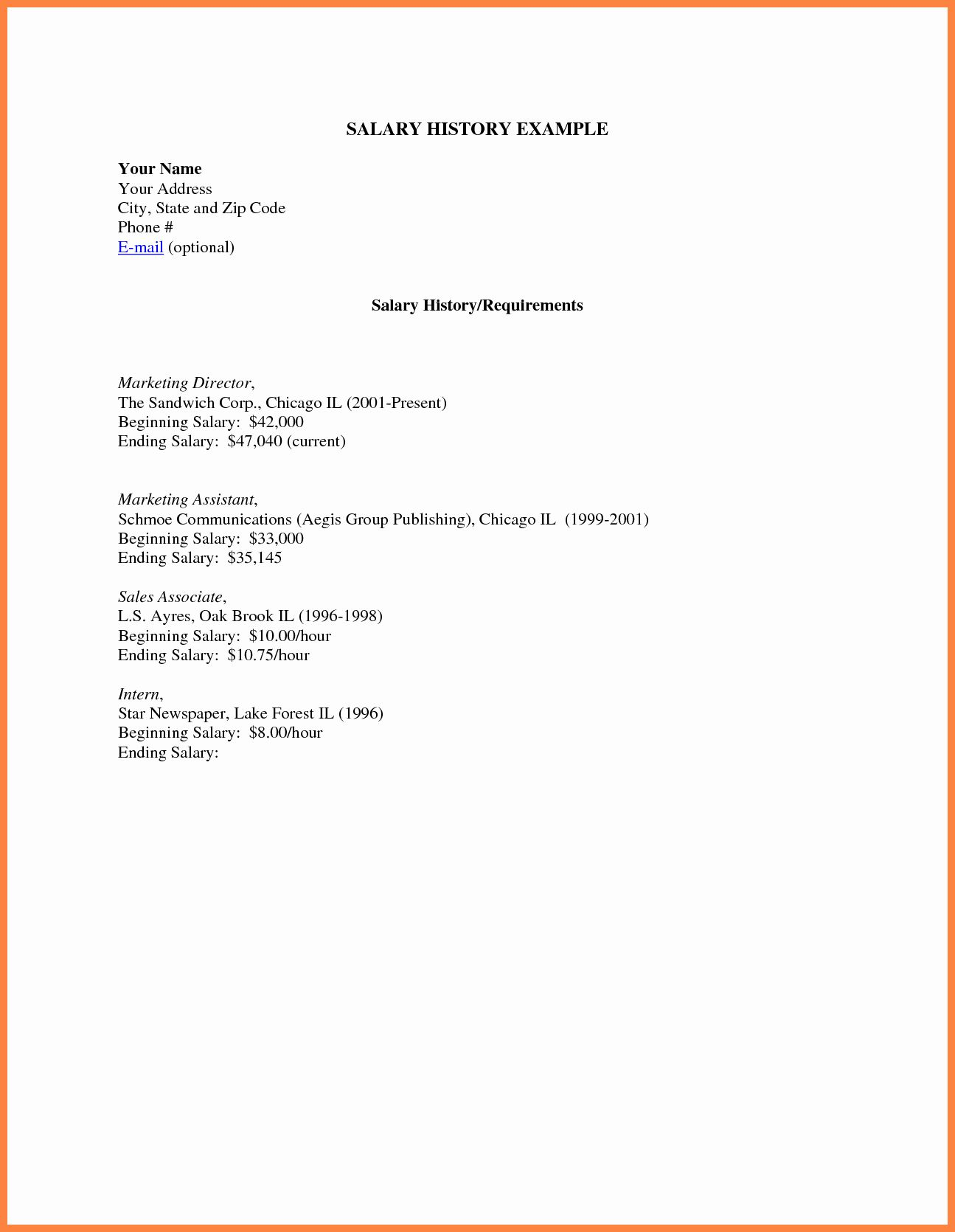 25 Salary Requirements In Cover Letter Cover Letter For Resume Resume Words Salary Requirements