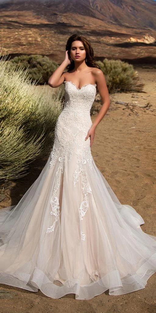 Wedding Dress Trouwjurken Korte Brides Size 16 Wedding Dress Deepika Bruidsjurk Bruiloft In 2020 Wedding Dresses Wedding Dress Guide Mermaid Wedding Dress