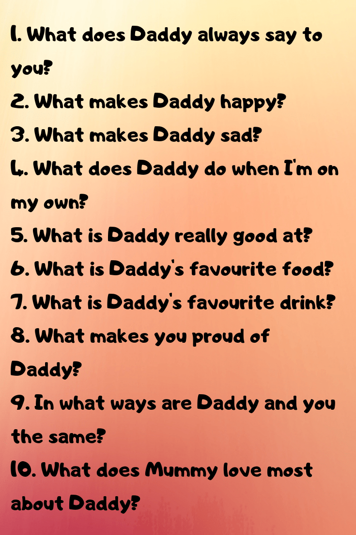 Fun Questions to Ask Your Kids. in 2020 Fun questions to