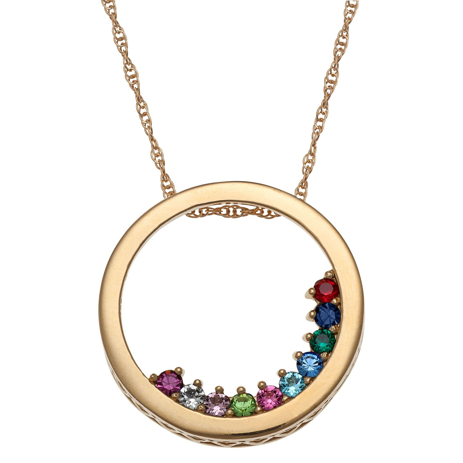 This gold over sterling mothers birthstone necklace is a chic and this gold over sterling mothers birthstone necklace is a chic and thoughtful aloadofball Images