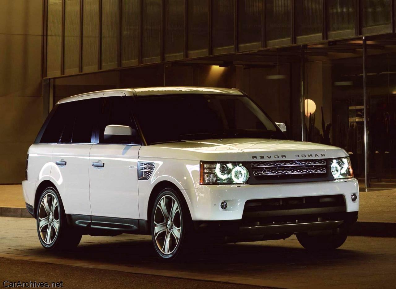 White 2011 Ranger Rover Sport my dream car Range rover