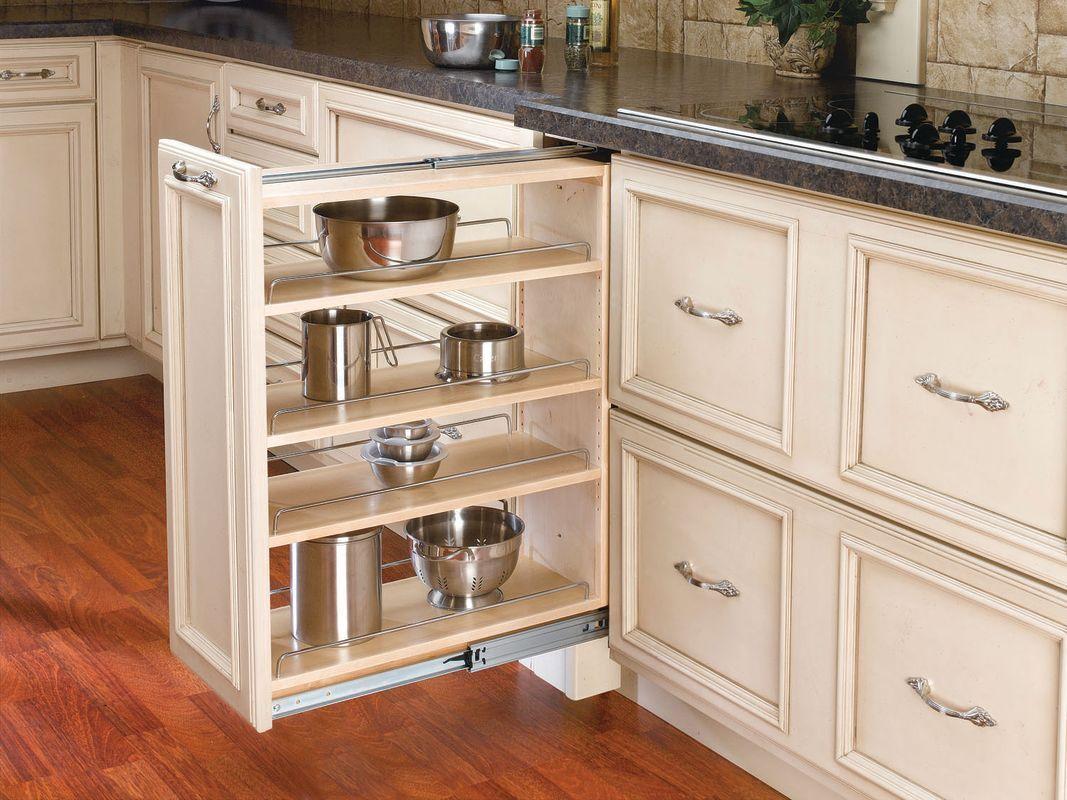 Rev A Shelf 432 Bf 9c 432 Series 9 Inch Pull Out Build Com New Kitchen Cabinets Kitchen Cupboard Storage Kitchen Renovation