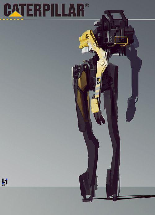 Robot cyborg shemale