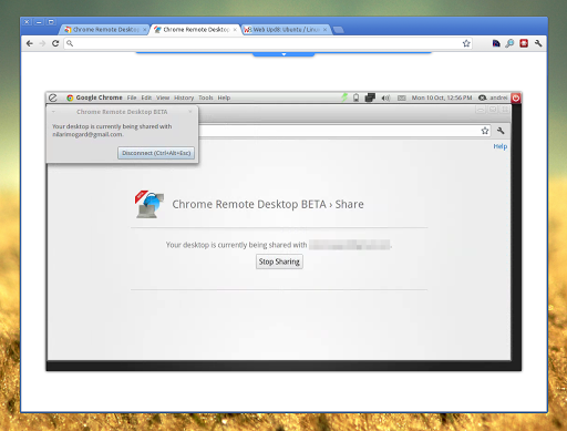 Chrome Remote Desktop Supports Linux CDR was previously