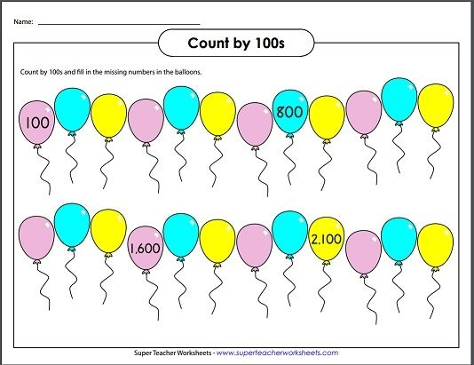 Skip Counting by 100 Math Super Teacher Worksheets – Super Teacher Worksheets Addition and Subtraction