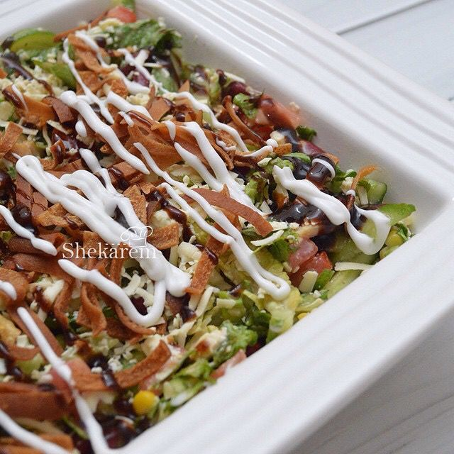 سلطة الباربيكيو المقادير صدر دجاج يتبل ب 3 م ص صويا مالحة 1 4 م ص فلفل اسود 1 4 م ص اوريغانو خس Recipes Oriental Chicken Salad Food Projects