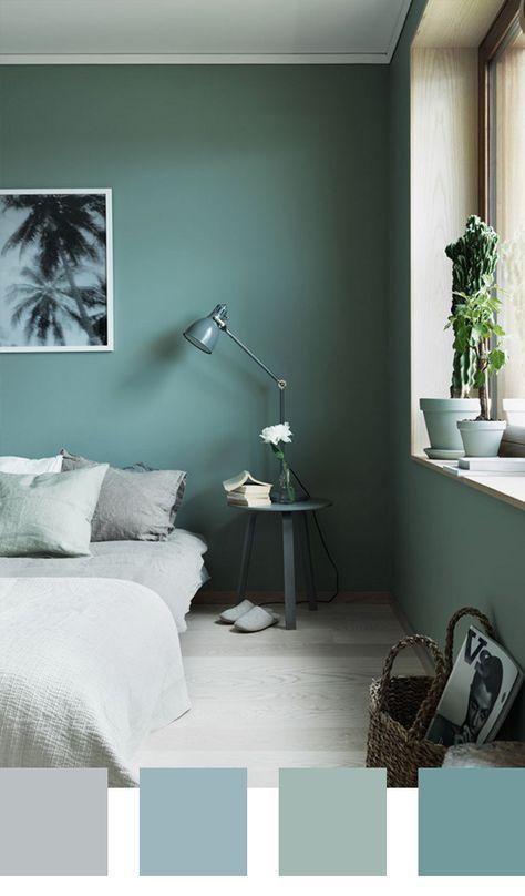 5 kleurpaletten voor in de slaapkamer | Wohnzimmerfarben, Neustart ...