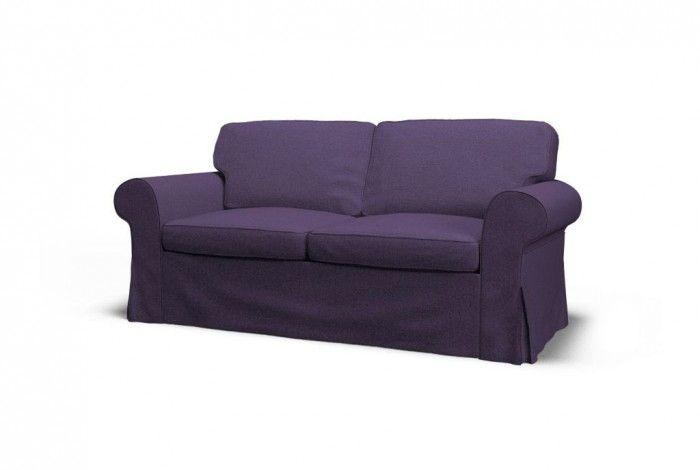 IKEA EKTORP two-seat sofa slipcover - Gaja Wild Thistle