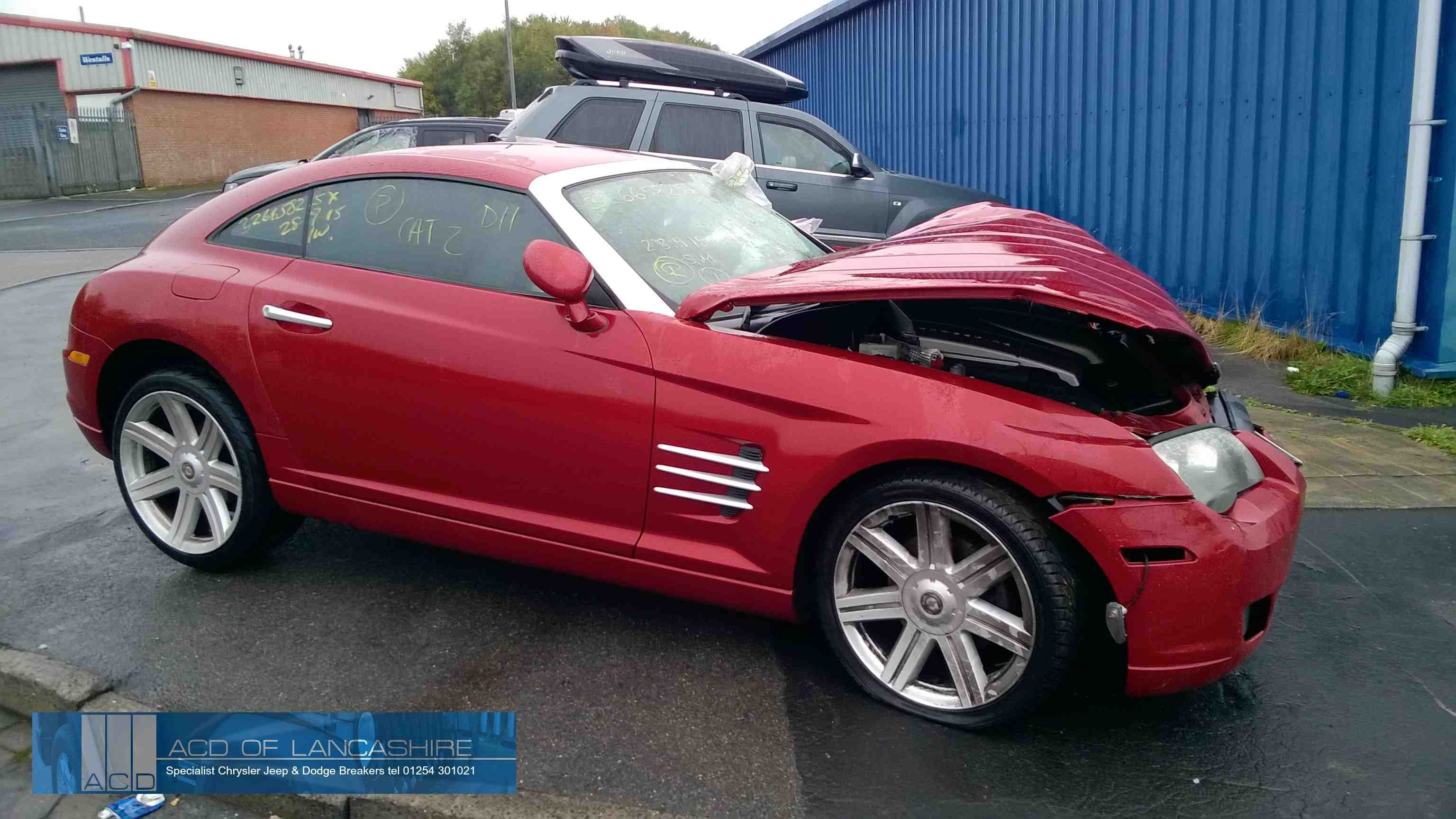 Breaking For Spare Parts Chrysler Crossfire Chrysler Crossfire