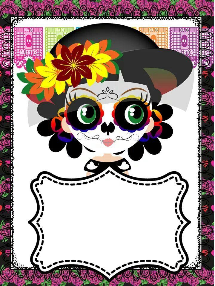 Pin de Linda Oviedo en Etiquetas y más... | Pinterest | Day of the ...