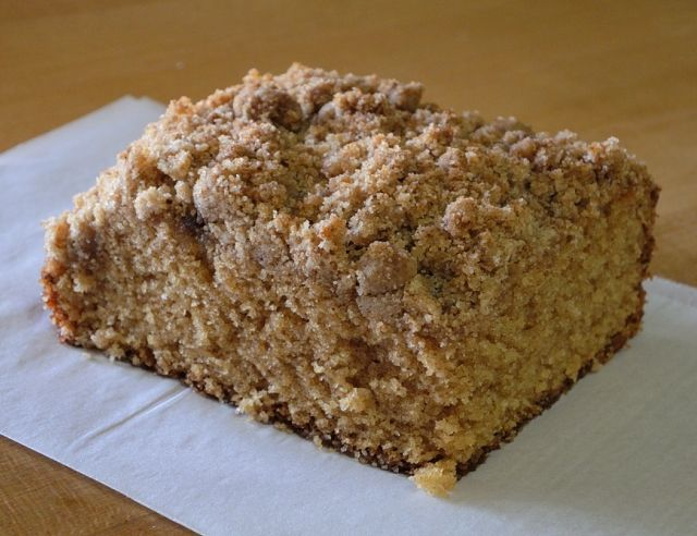 Old fashioned coffee cake 7