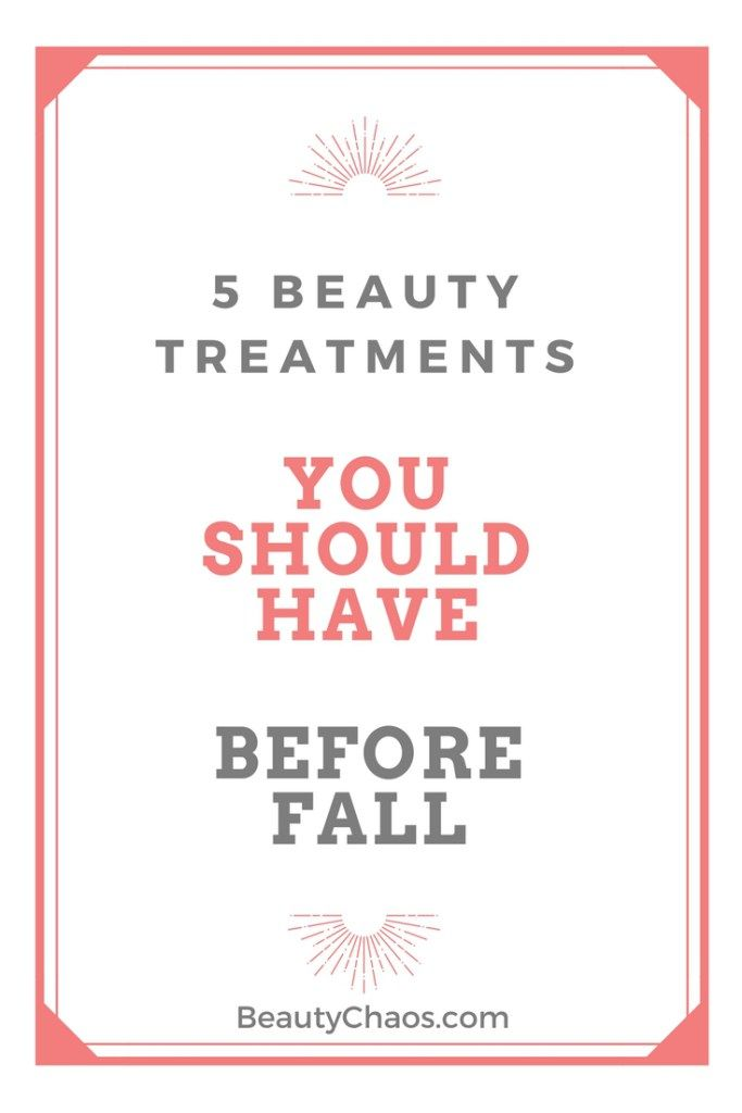 5 Beauty Treatments You Should Have Before Fall is part of Beauty treatments, Easy face mask diy, Banana face mask, Dark lips, Forehead wrinkles, Skin - By Guest Contributor Brigitte Evans Well, summer is slowly coming to an end, and with it our cozy dreams of long, warm vacations and lazing around the house without a care in the world  It's time to focus on the fall, with its rainy skies, …
