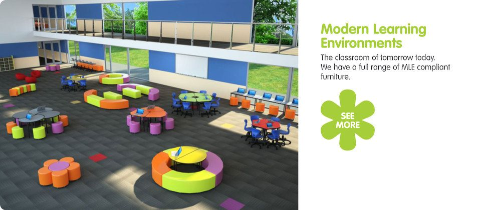 Innovative Primary Classrooms : Future proof furniture solutions for learning and admin