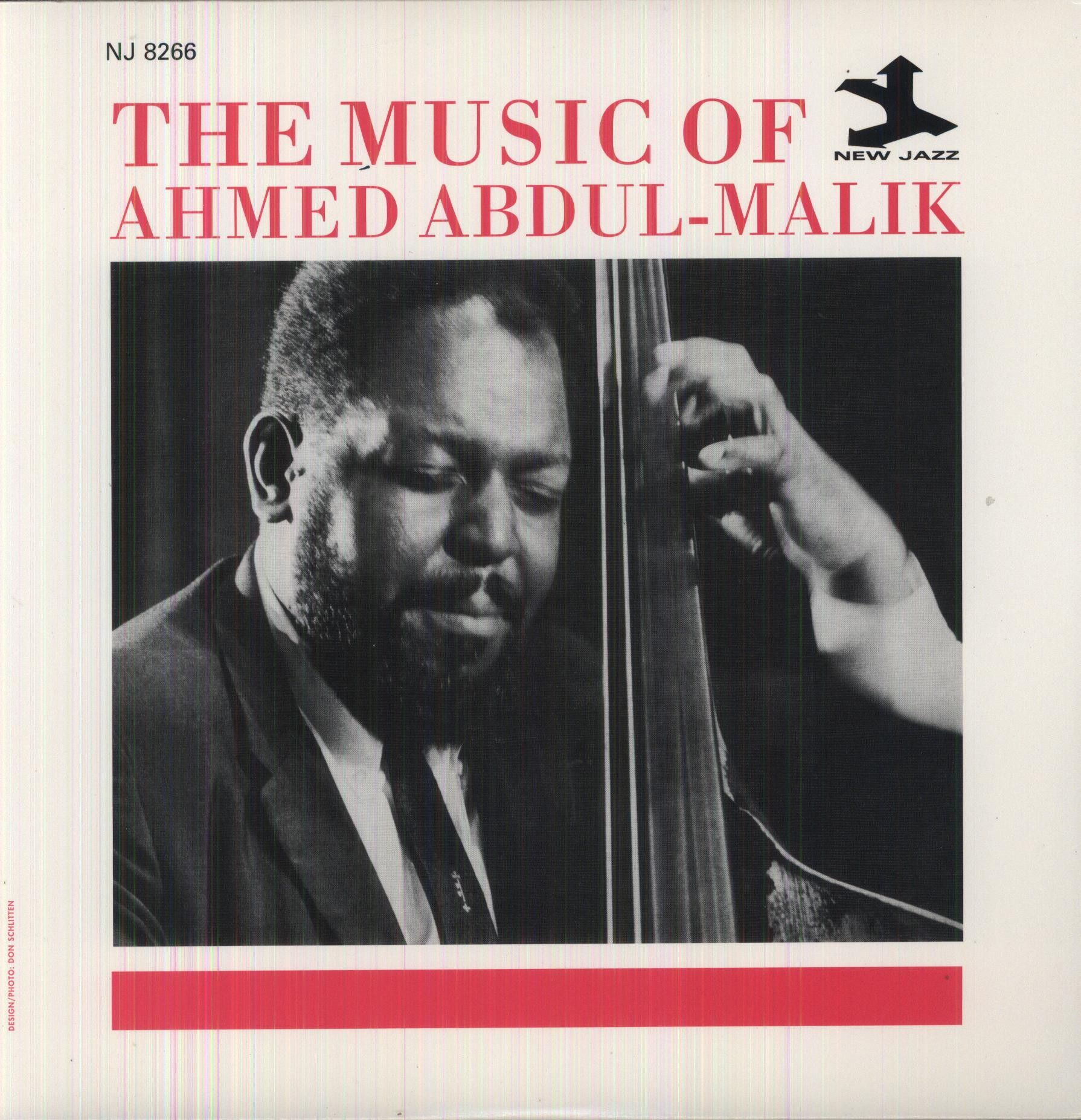 Ahmed Abdul Malik On The New Jazz Label Cover Design And