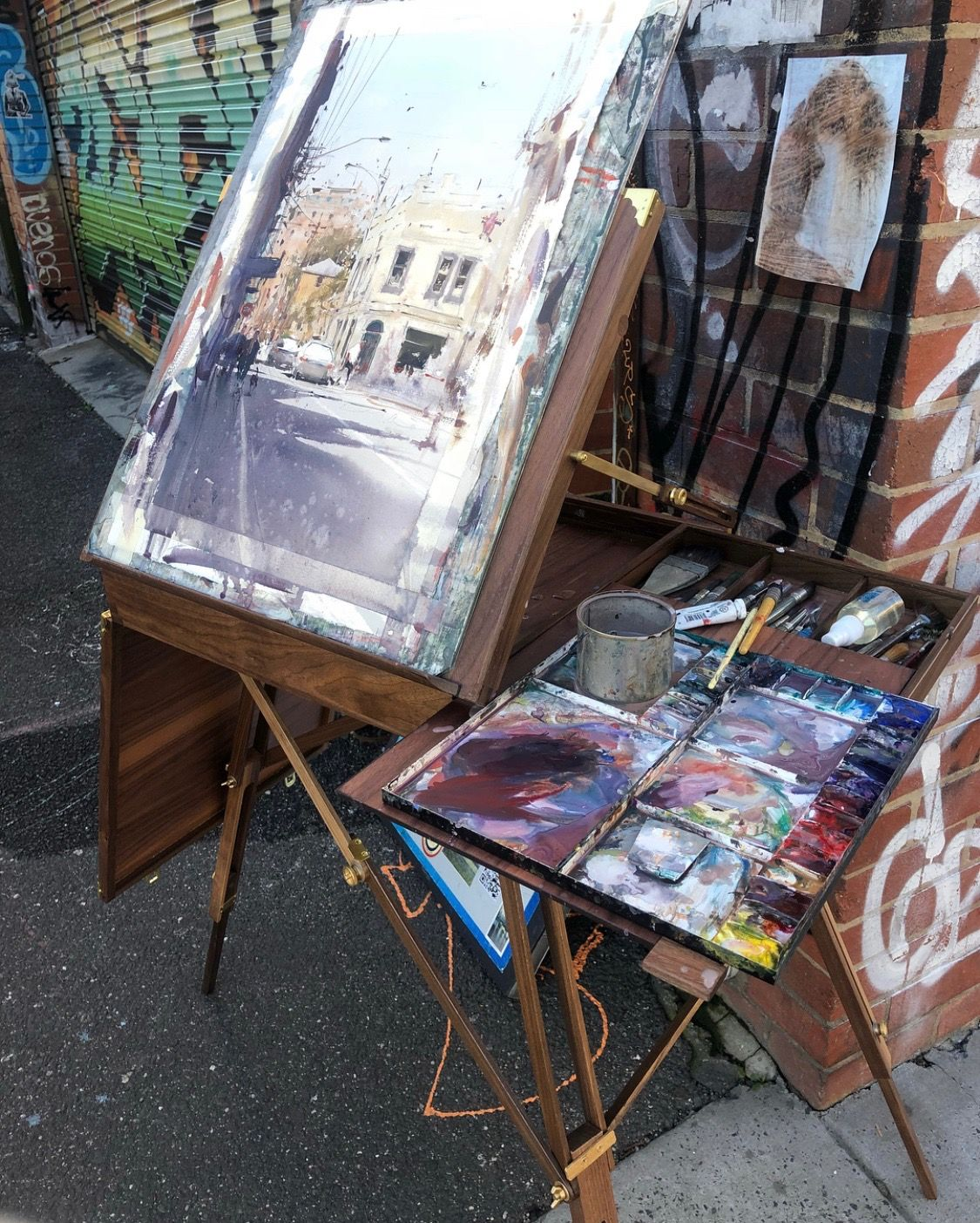 Joseph Zbukvic; New easel debut! (With images)