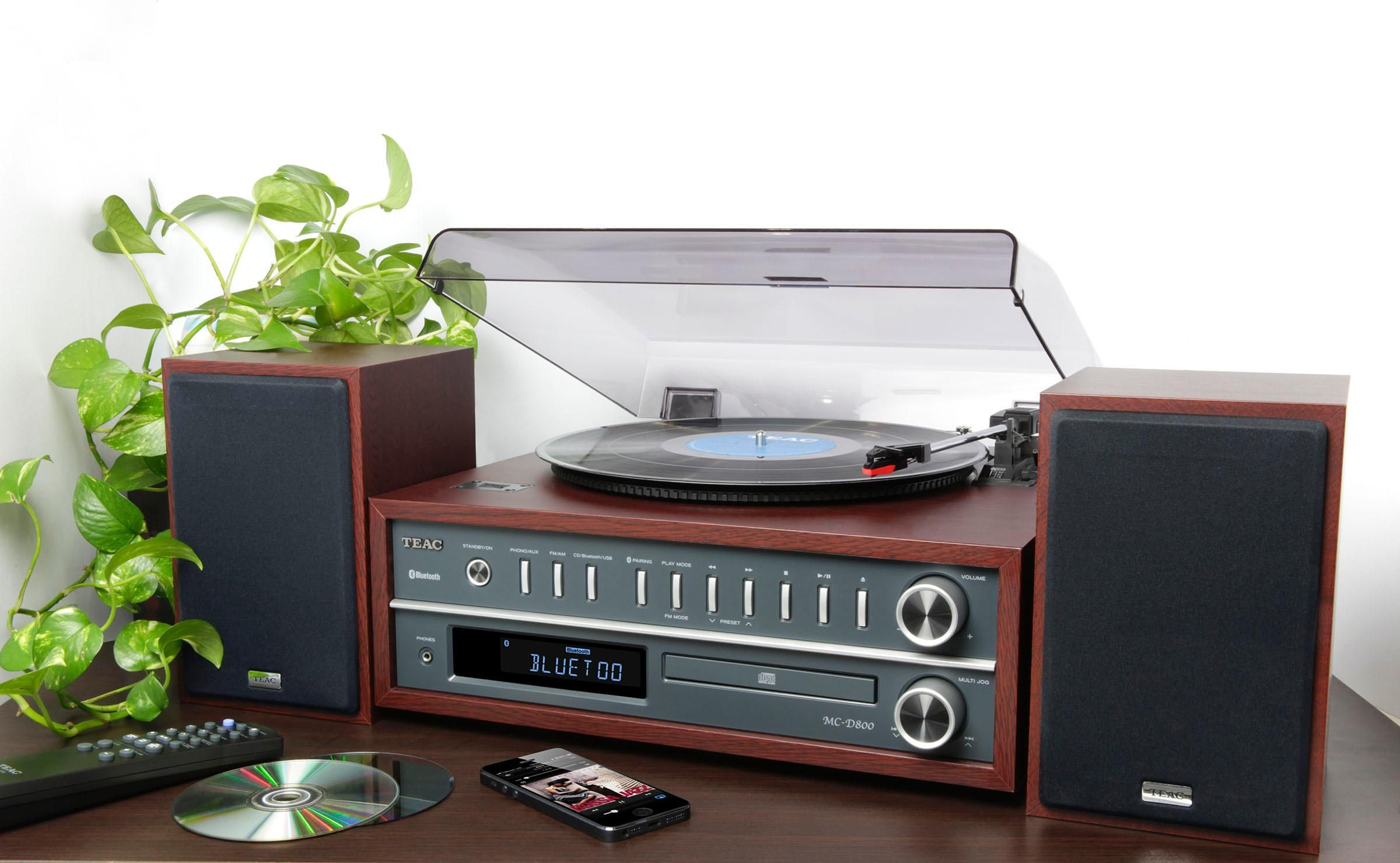 : Teac LP P1000 CH All In One Turntable Speaker