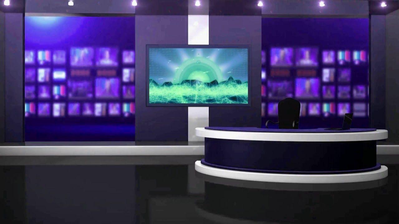 Virtual Studio Green Screen Video Tv Studio Background Animation 712 Greenscreen Virtual Studio Studio Background