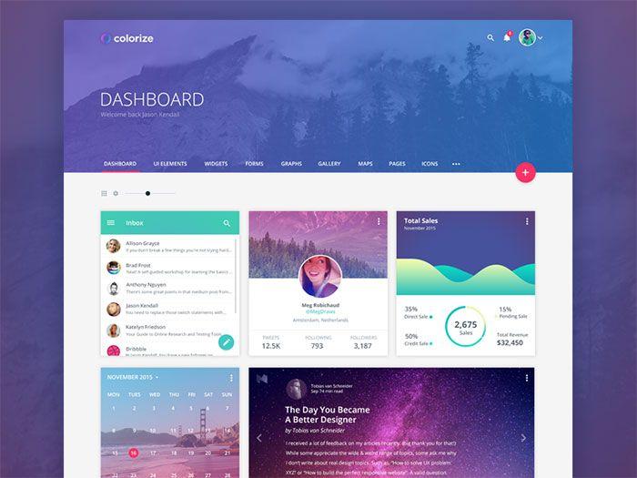 Showcase Of Beautiful Dashboard UI Designs                                                                                                                                                      More
