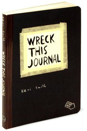 Wreck This Journal: To Create Is to Destroy
