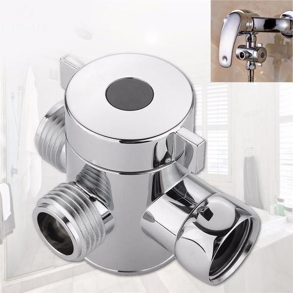 3 Way Diverter Valve In 2019 Shower Heads Adjustable Shower Arm