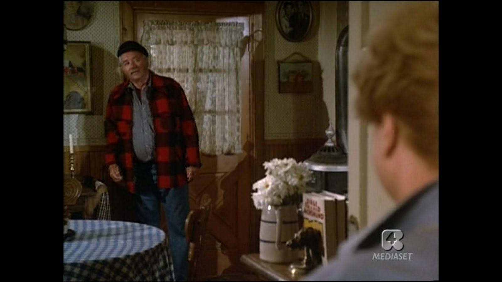 Handy Man (Ralph) Entering Back Door of Kitchen