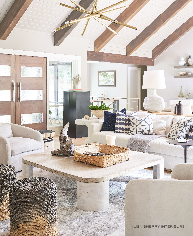Organic And Modern Living Room