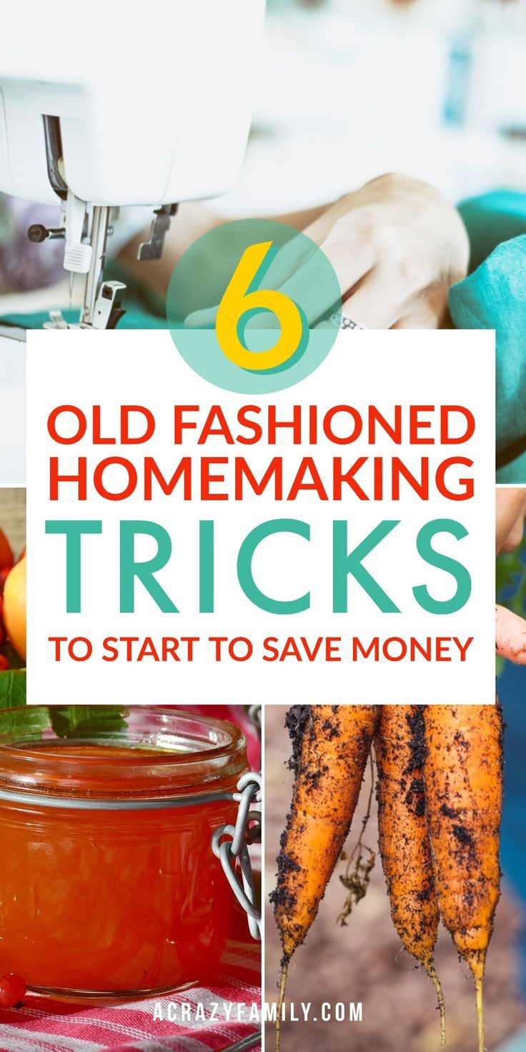 6 Old Fashioned Homemaking Tricks to Start Using That Will