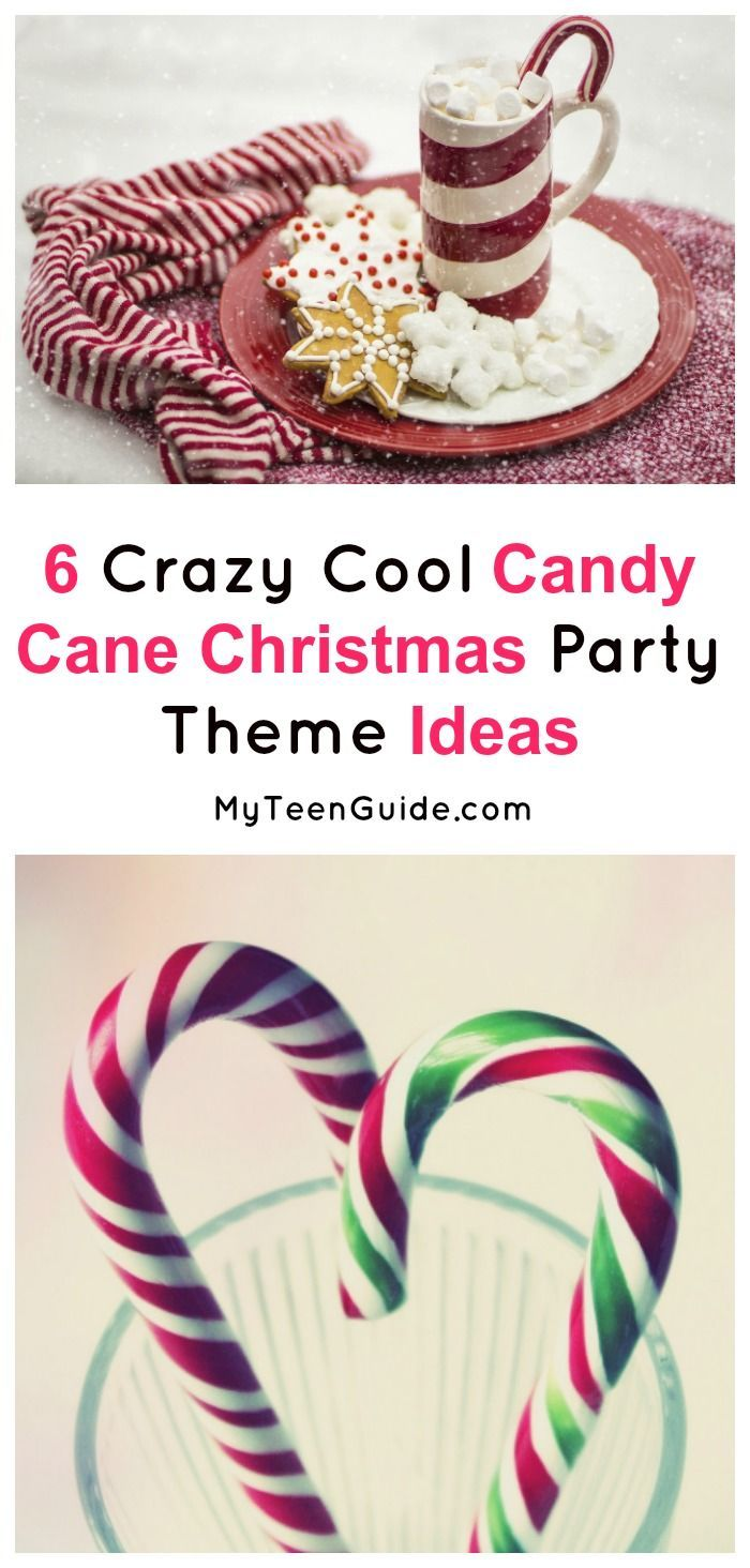 6 Crazy Cool Candy Cane Party Theme Ideas | Fun christmas party ...