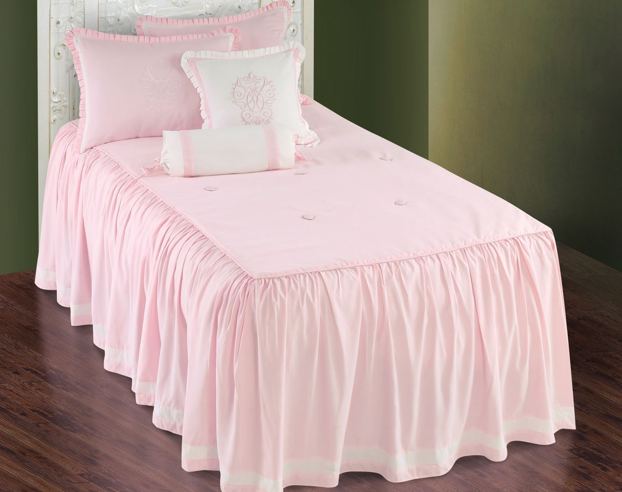 Pink bed sets for girls - Hallmart Daphne Pink Comforter Set Little Girls Pink Bedding Sets Girls Bedding For
