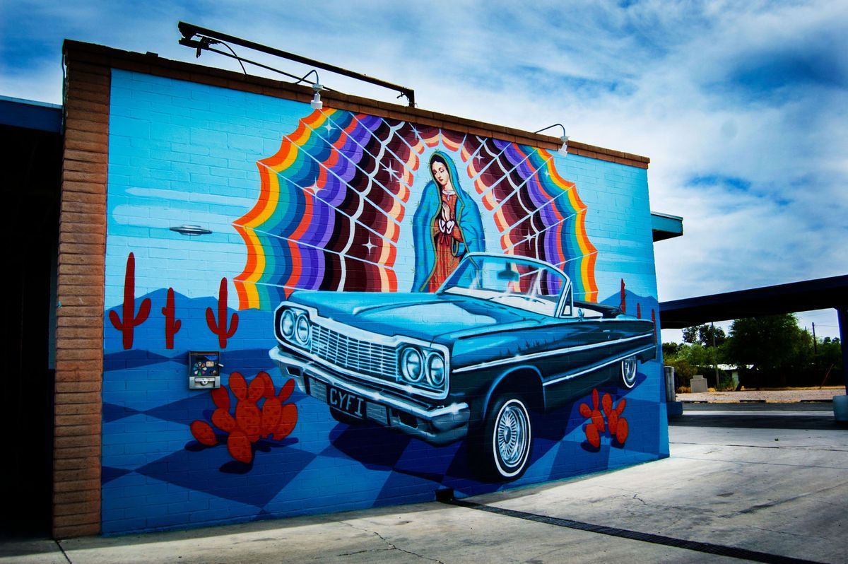 Car wash mural street art tucson az street art and murals car wash mural street art tucson az solutioingenieria Gallery