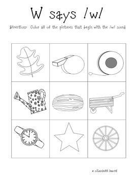 Letter W Activities Letter W Activities W Activities Teaching Letter Recognition Letter w pre k worksheets