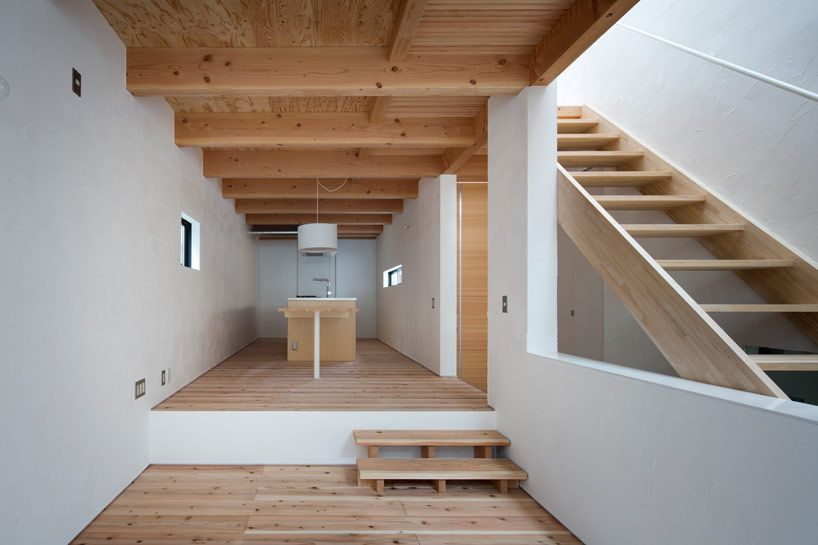 Containerbauweise Haus house of shimamoto cho by container design interiors