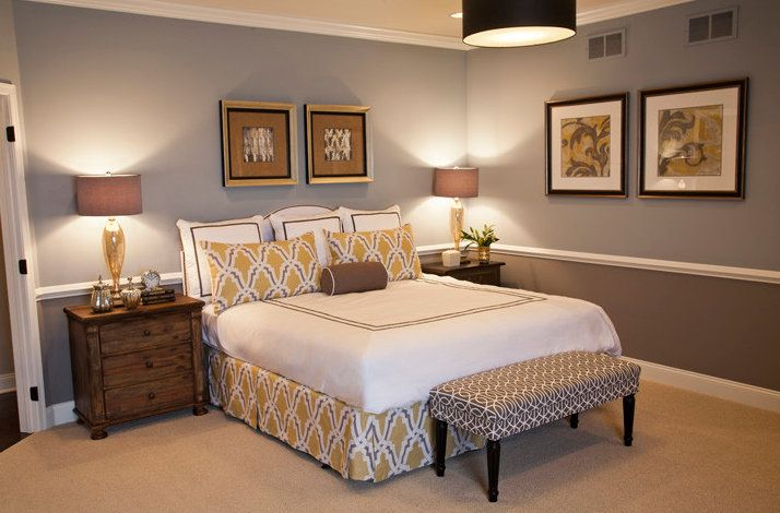My Blog Love Your Room Grey Bedroom Design Small Bedroom Remodel Remodel Bedroom #two #toned #walls #living #room
