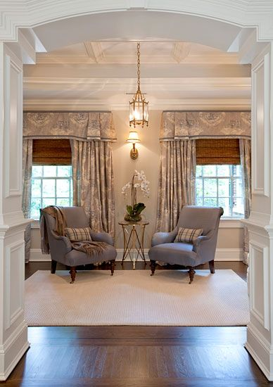 Greenwich Estate, lovely sitting area Nyc interior