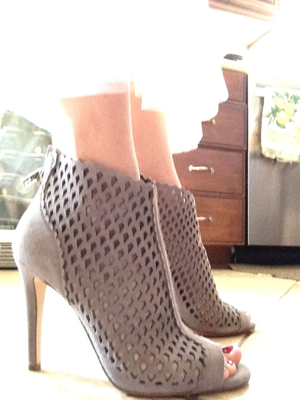 7e4ef3ec041 Gorgeous caged booties http   rstyle.me n m5hjmnyg6 Fall Booties