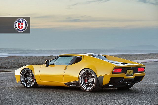 Ringbrothers DeTomaso Pantera with HRE S101 in Satin Charcoal - Drew Phillips Photography (12) by HRE Wheels, via Flickr