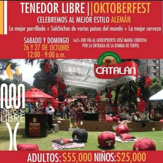 Este fin de semana no te puedes perder el #Oktoberfest. Tendremos música en vivo y zona de picnic, zona de niños y mascotas.