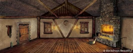 Backdrops Cottage Interior 1