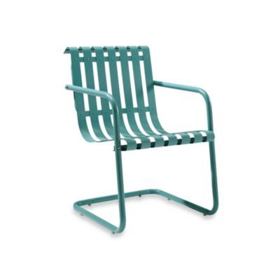 Crosley Gracie Retro Spring Chairs Lounge Chair Outdoor Outdoor Furniture Outdoor Chairs